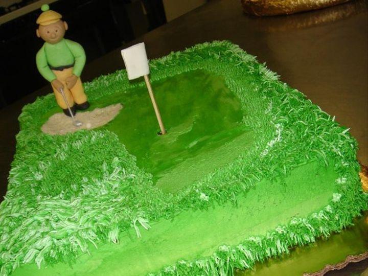 Tmx 1236740358094 GolferinthebunkerGroom%27scake Greenville wedding cake