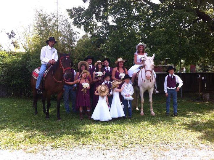 9985b2e3464c31ab Cowboy wedding
