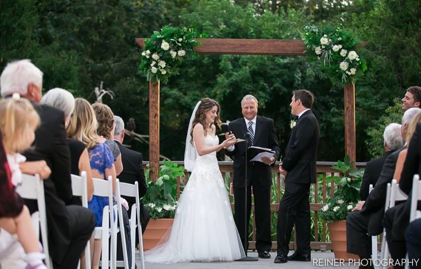 Ceremony on Eagles Deck