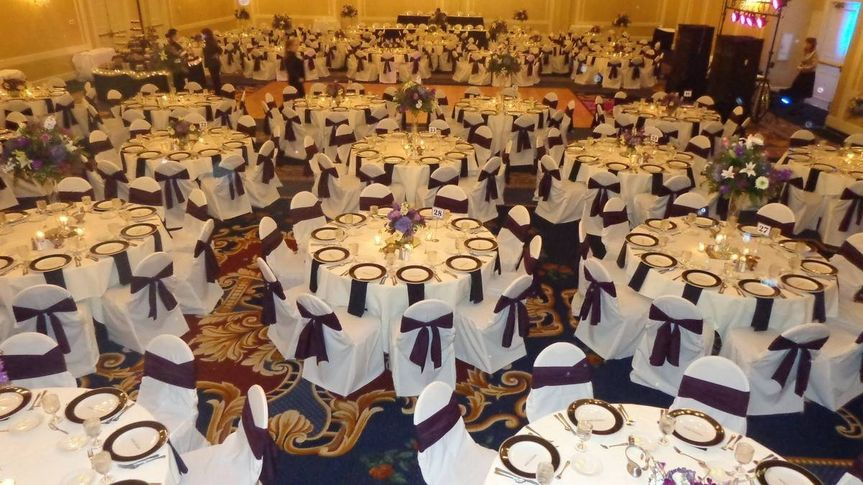 Large event rooms