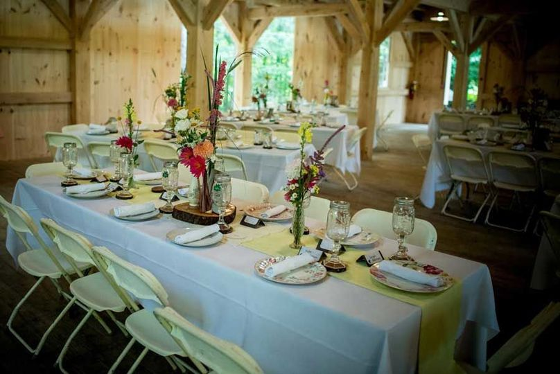 Rustic barn setting
