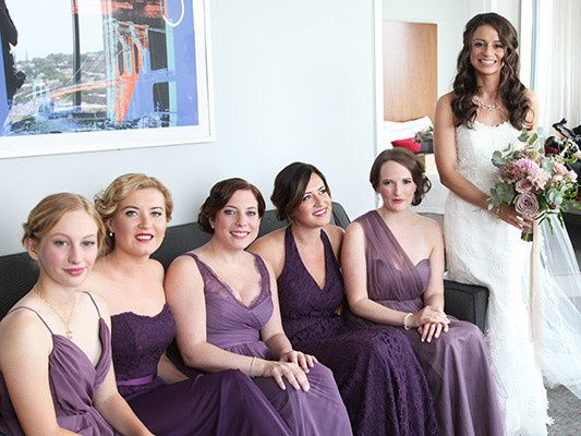 Tmx 1490379887510 Bridesmaidsitting Brooklyn wedding beauty