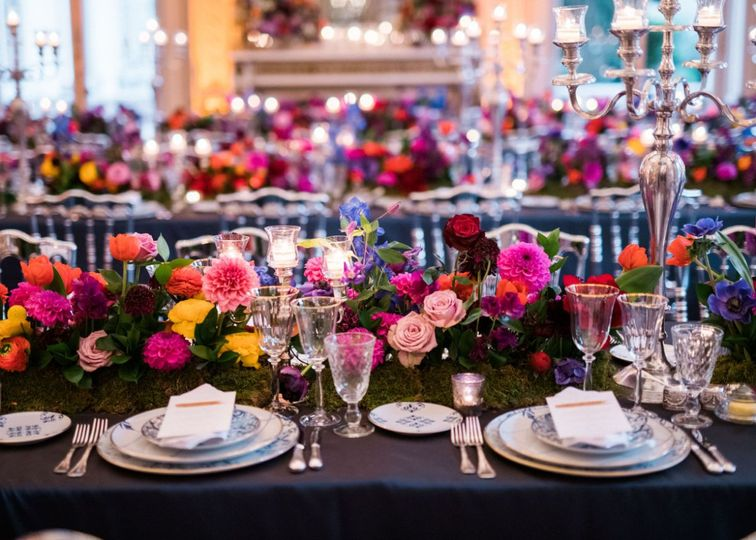 Paris wedding decor