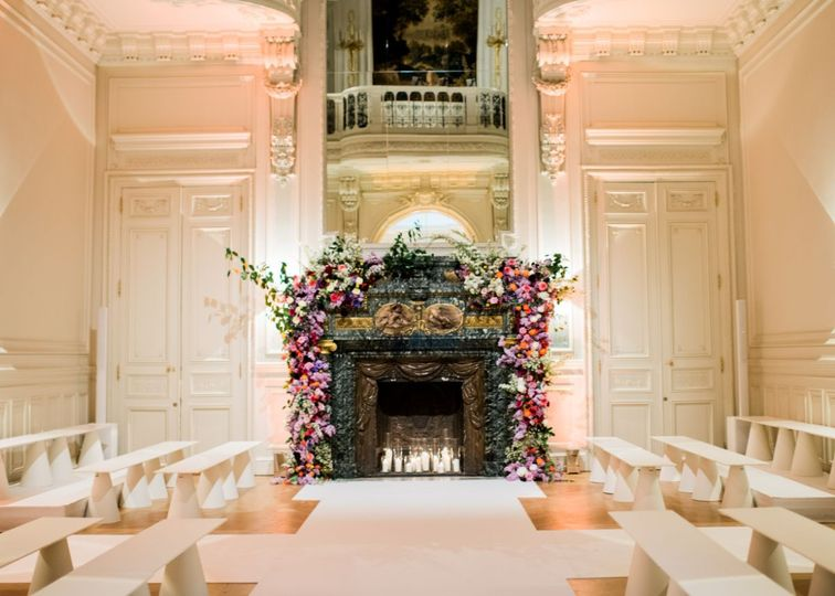 Paris Private Mansion Wedding