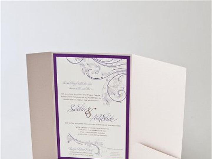 Tmx 1310420336429 InviteInk019 Brea wedding invitation