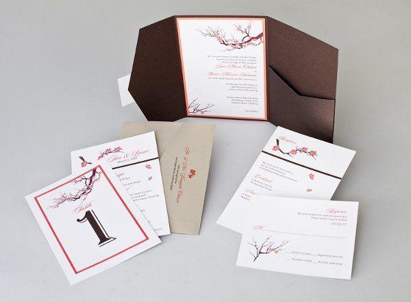 Tmx 1310420499710 InviteInk043 Brea wedding invitation