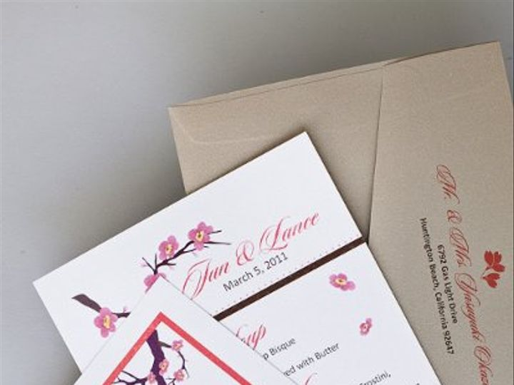 Tmx 1310420506632 InviteInk044 Brea wedding invitation