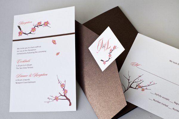 Tmx 1310420519366 InviteInk046 Brea wedding invitation
