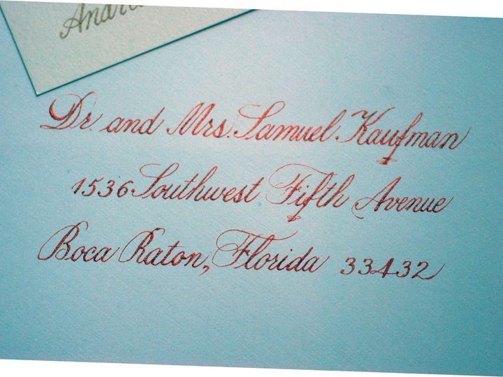 Tmx 1390047566643 Calligraphy Delray Beach wedding invitation