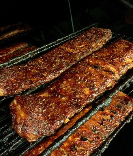 Signature smoked ribs