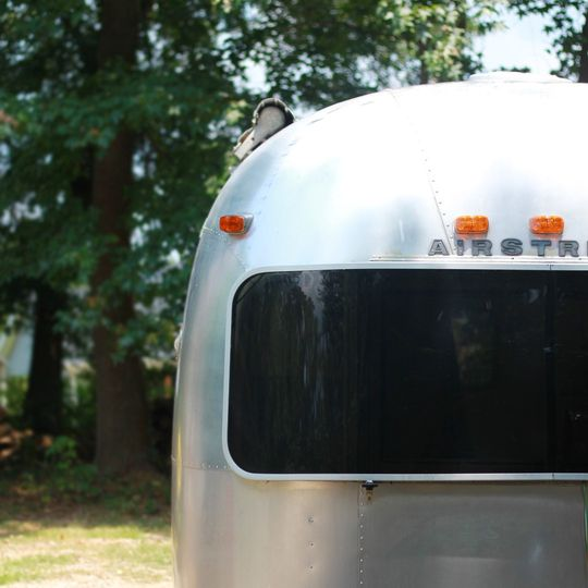 Vintage Airstream Lounge
