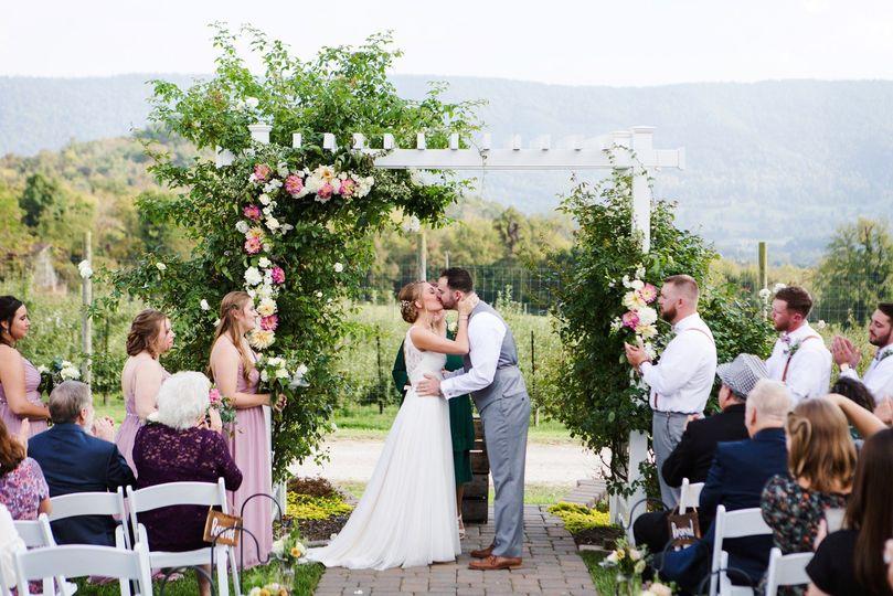 Wedding arch design