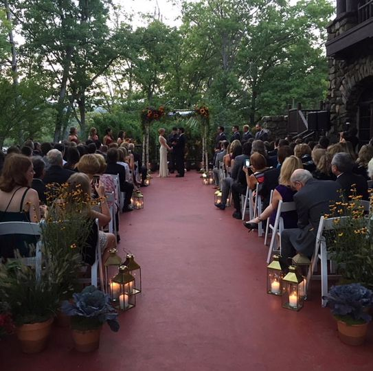 Bear Mountain Inn Ceremony