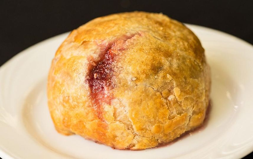 Brie en Croute with Raspberry Filling!