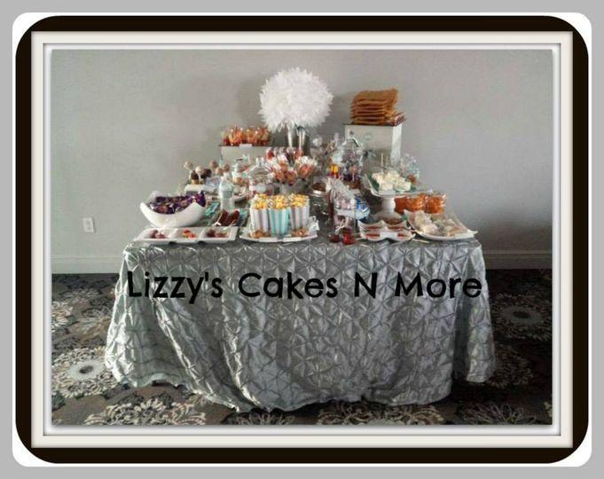 Dessert Wedding Table