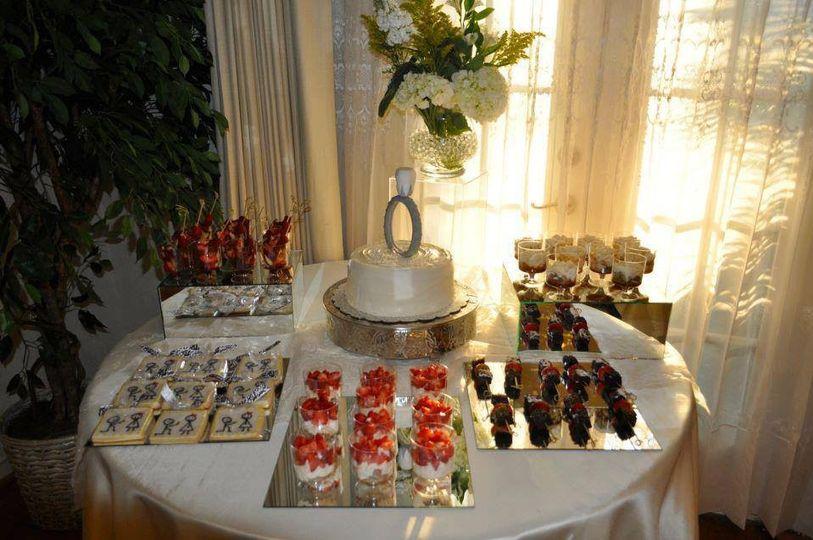 Engagement Dessert table