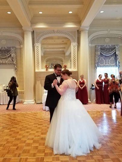 Th couple's dance