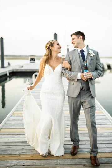 Sea-view wedding