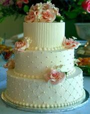 hatbox wedding cake