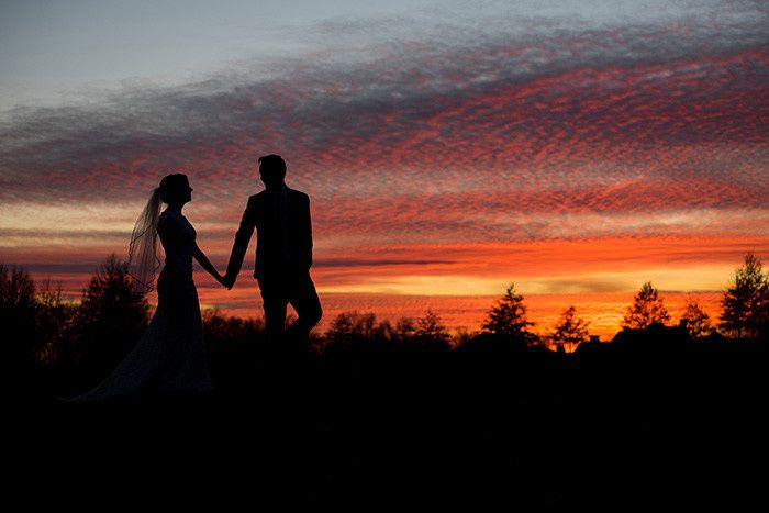 sunset wedding jefferson country club blacklick oh