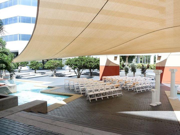 Tmx Courtyard Ceremony 2 51 1862931 157504052535773 Melbourne, FL wedding venue