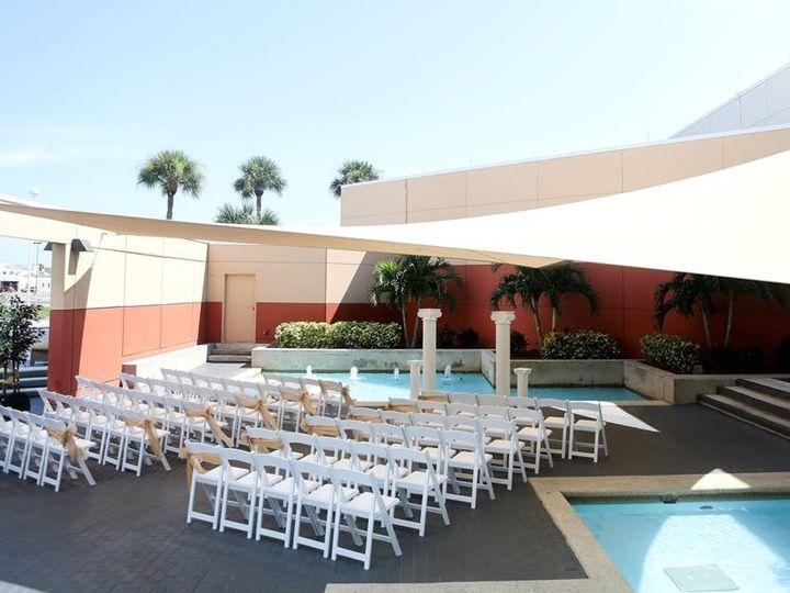 Tmx Courtyard Ceremony 51 1862931 157504052846509 Melbourne, FL wedding venue