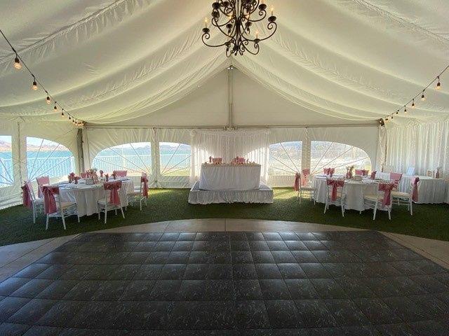 Wedding Rec. in Pavilion
