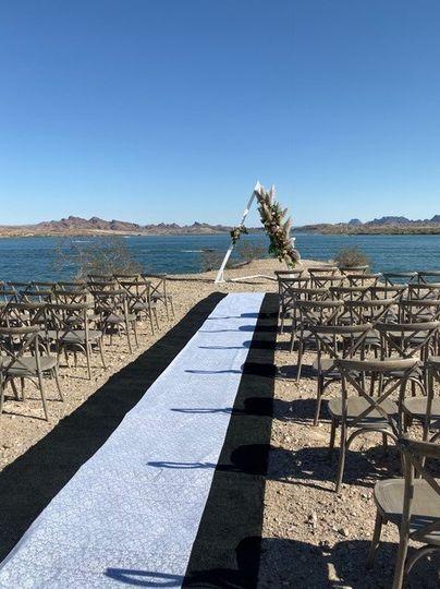 Wedding Ceremony on Point