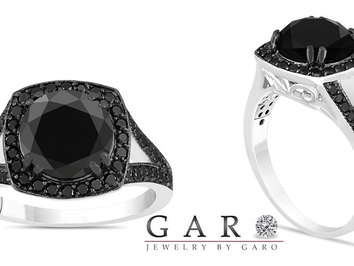 Tmx 1429928302618 Jewelry By Garo Celik Black Diamond Engagement Rin New York, NY wedding jewelry