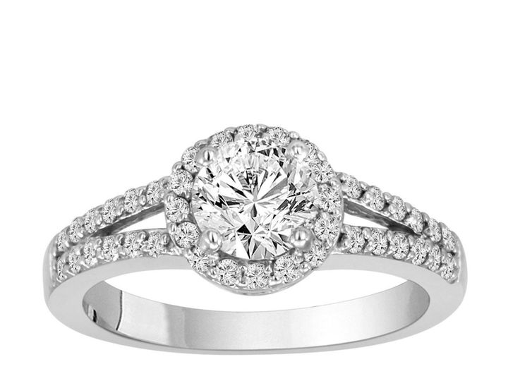 Tmx 1429928790277 Naturaldiamondengagementring1.01caratcertified14kw New York, NY wedding jewelry