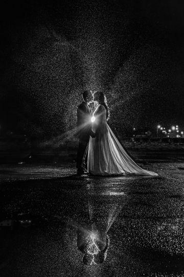 Kiss me in the rain...