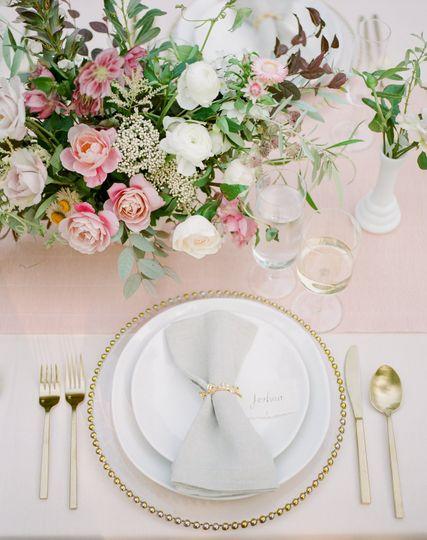 Gorgeous table setup