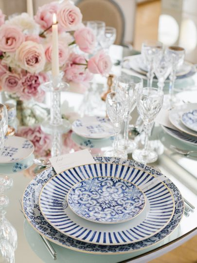A beautiful place setting