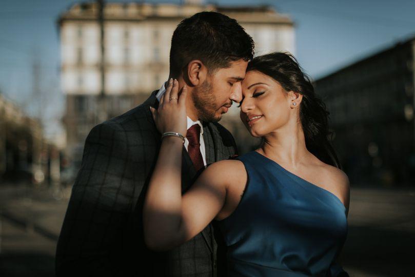 Engagement in Milan
