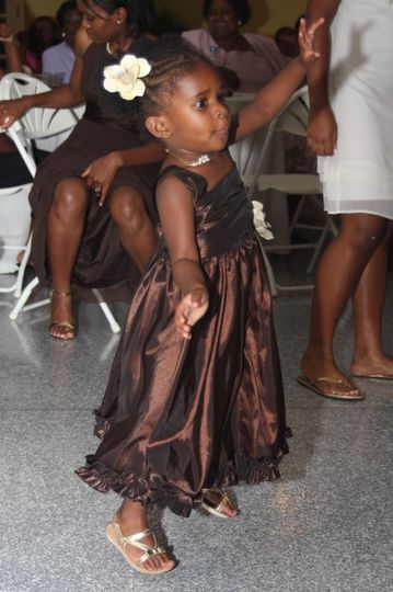 Kid in the wedding