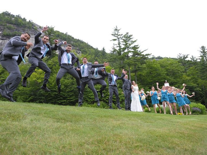 Tmx Wedding Party Jump 51 46931 North Conway, NH wedding venue