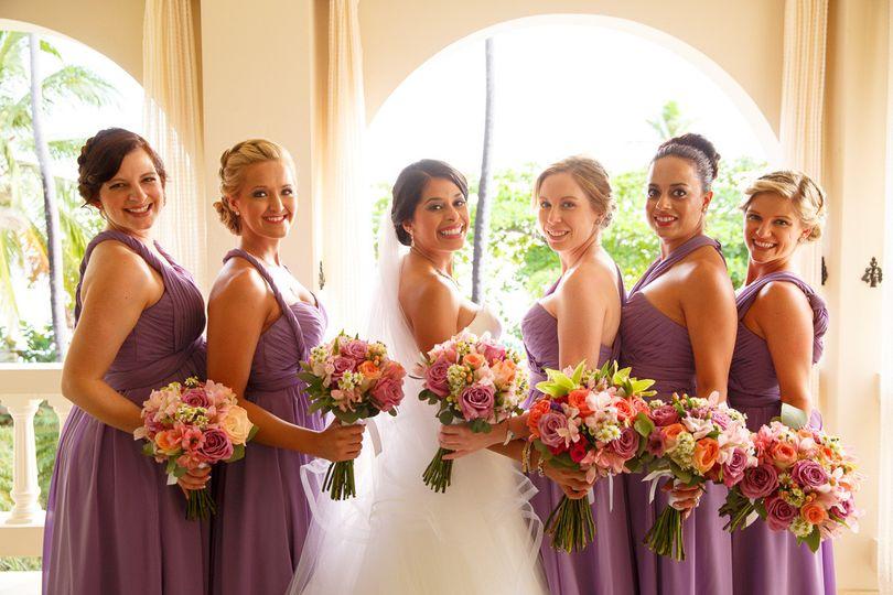bride bm wbouquets