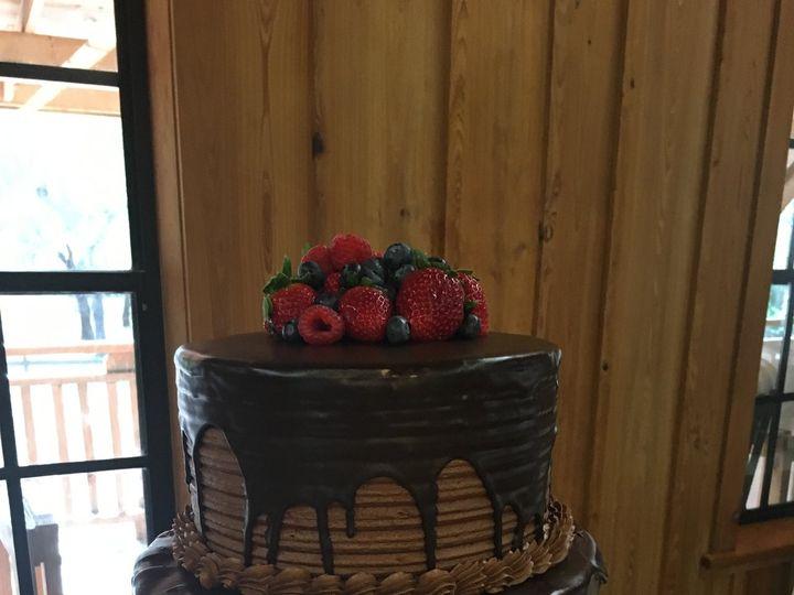 Tmx Double Chocolate Grooms Cake 51 57931 Gainesville, Florida wedding cake