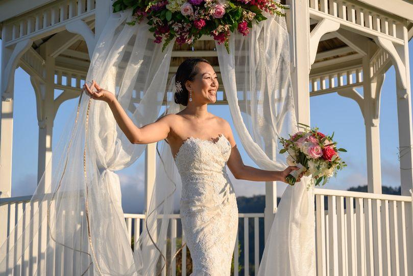 Crystal Springs wedding, Wedge