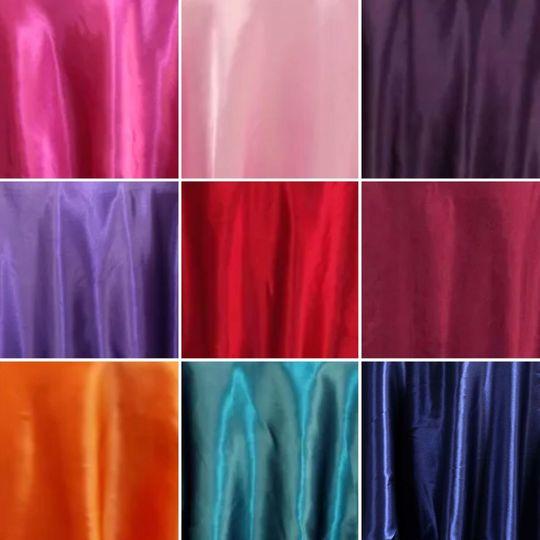 Satin Table Cloths!!!