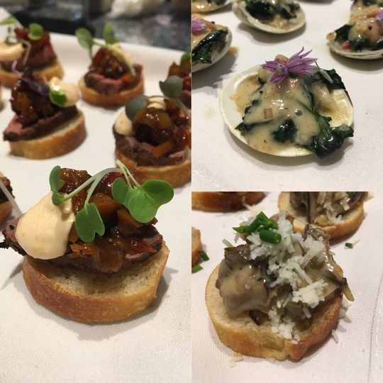 Selection of Hors d'oeuvres