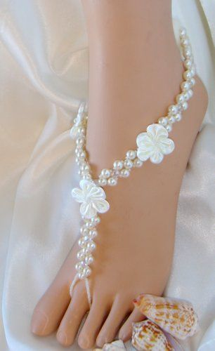 Tmx 1341277911286 GlamorousFlowerSandals2 Hesperia wedding jewelry