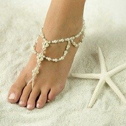 Tmx 1380235603979 Beautiful Barefoot Sandals Highres  Sea Side Barefoot Sandals Hesperia wedding jewelry