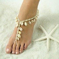 Tmx 1380235723017 Beautiful Barefoot Sandals Highres Sea Shells Hesperia wedding jewelry
