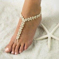 Tmx 1380236596008 Beautiful Barefoot Sandals Highres  Tropical Beach Hesperia wedding jewelry