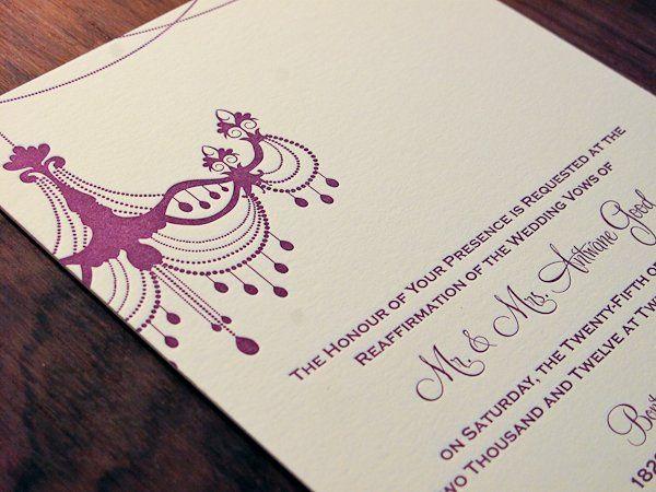 Tmx 1327733178636 SimplyLetterpressedWeddingWire104 Irvine, California wedding invitation