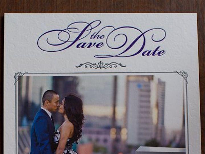 Tmx 1327734986532 SimplyLetterpressedWeddingWire107 Irvine, California wedding invitation