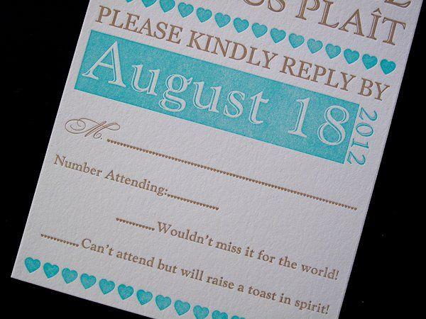 Tmx 1328682969894 LaraghLetterpressInvitation205 Irvine, California wedding invitation