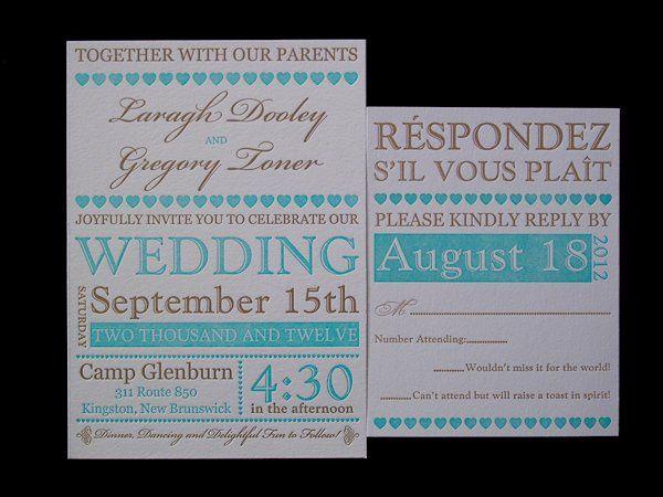 Tmx 1328682977535 LaraghLetterpressInvitation207 Irvine, California wedding invitation