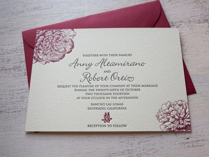 Tmx 1404863152848 Annyrobert 200 Irvine, California wedding invitation